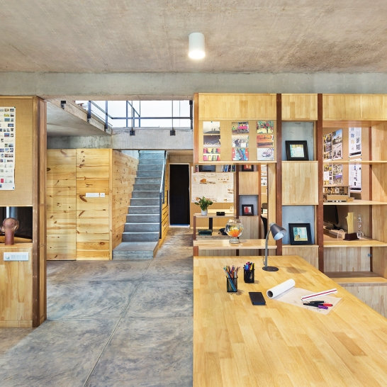 Architects Home Studio by BetweenSpaces